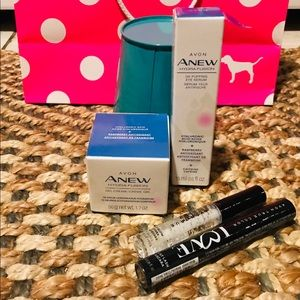 Avon Sets Face & Eyes & Lips & Mascara